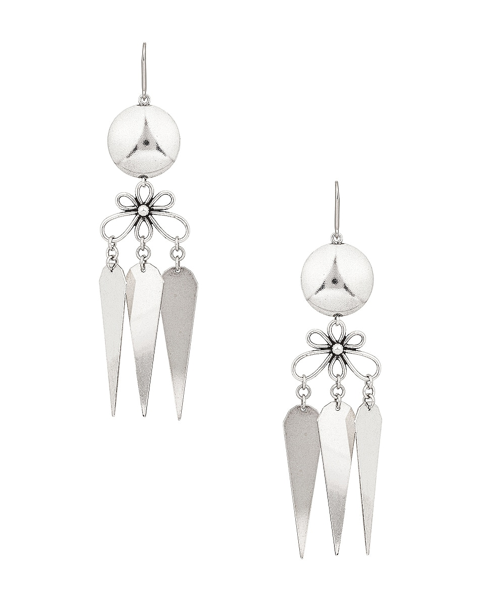 Image 1 of Isabel Marant James Earrings in Silver