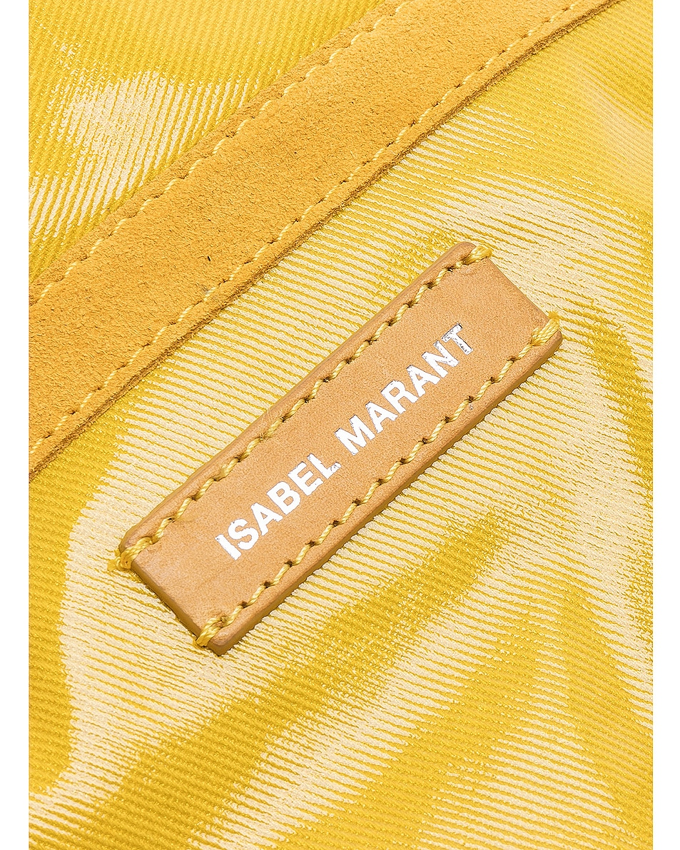 Image 7 of Isabel Marant Noomi Fanny Pack in Yellow