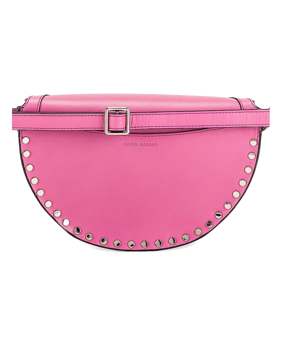 Image 3 of Isabel Marant Skano Fanny Pack in Pink