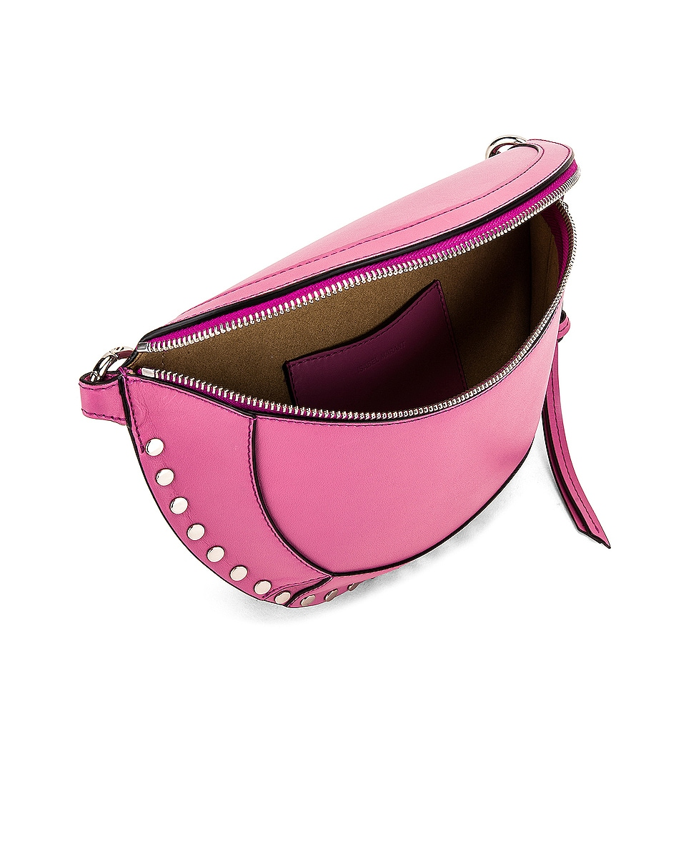Image 5 of Isabel Marant Skano Fanny Pack in Pink