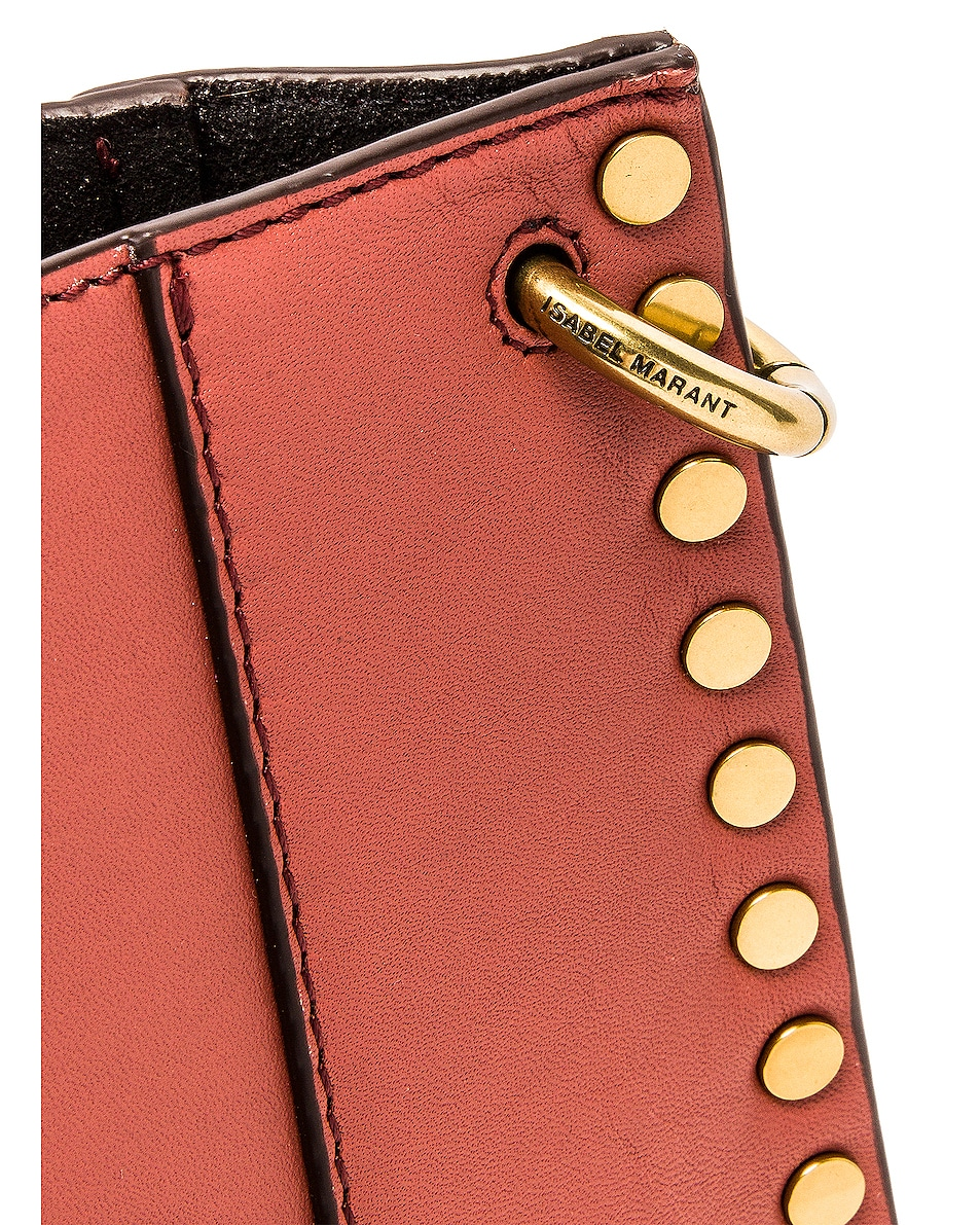 Image 8 of Isabel Marant Oskan Shoulder Bag in Rosewood
