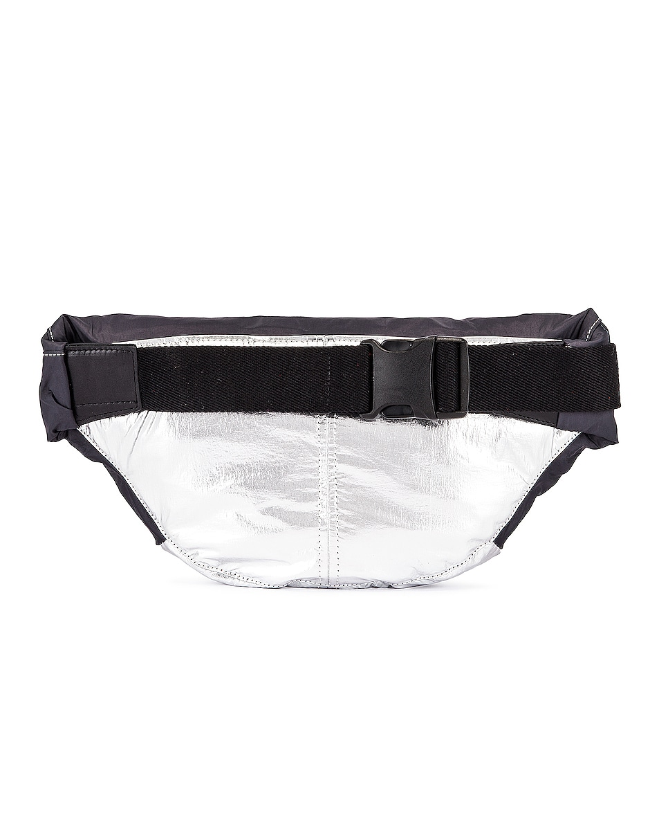 Image 3 of Isabel Marant Noomi Fanny Pack in Faded Black