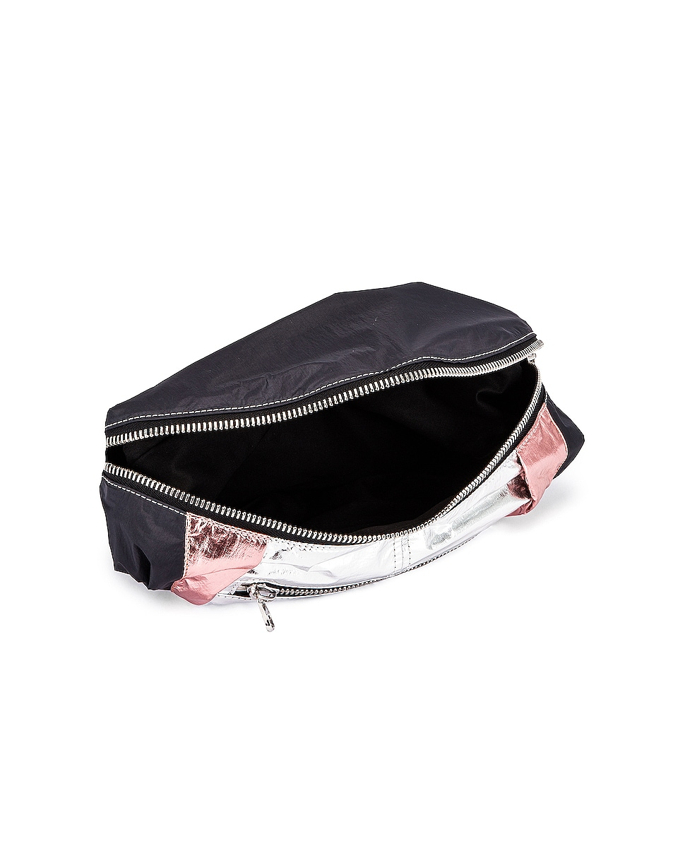 Image 5 of Isabel Marant Noomi Fanny Pack in Faded Black