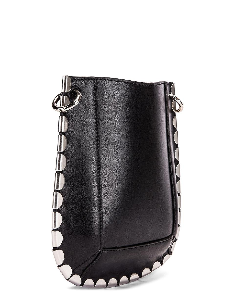 Image 3 of Isabel Marant Nasko Shoulder Bag in Black & Silver