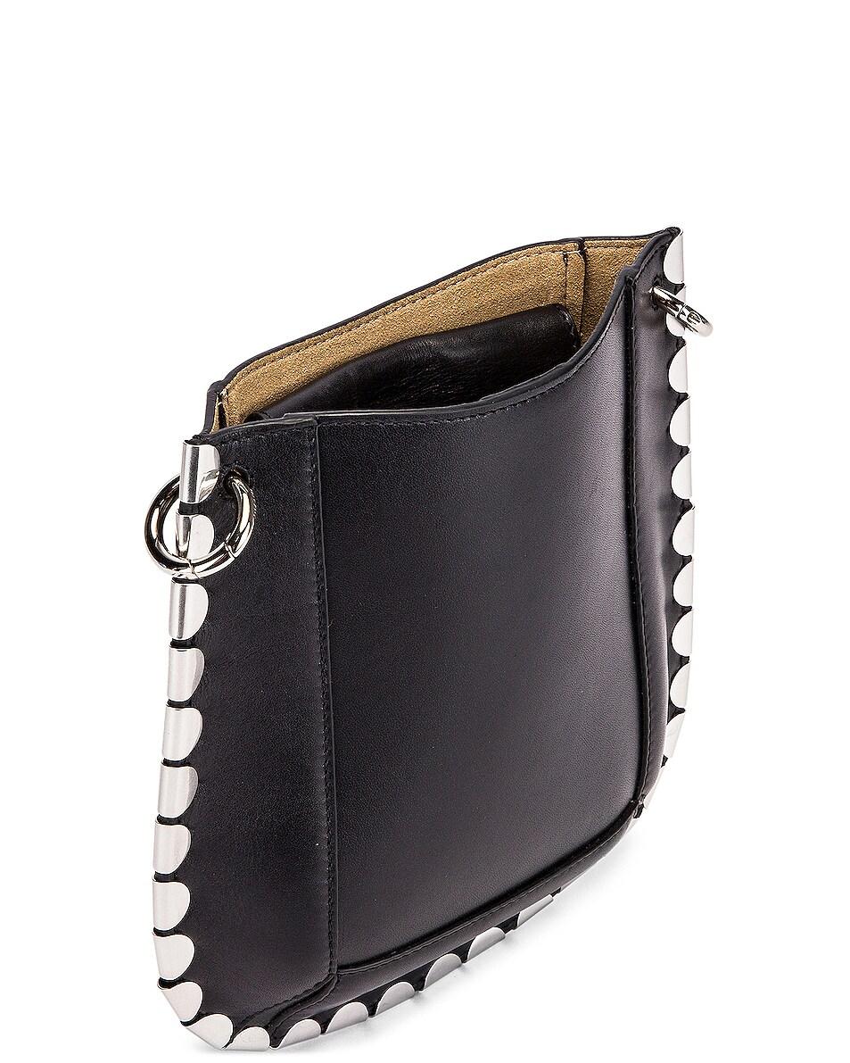 Image 4 of Isabel Marant Nasko Shoulder Bag in Black & Silver