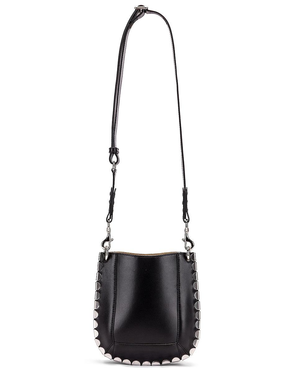 Image 5 of Isabel Marant Nasko Shoulder Bag in Black & Silver