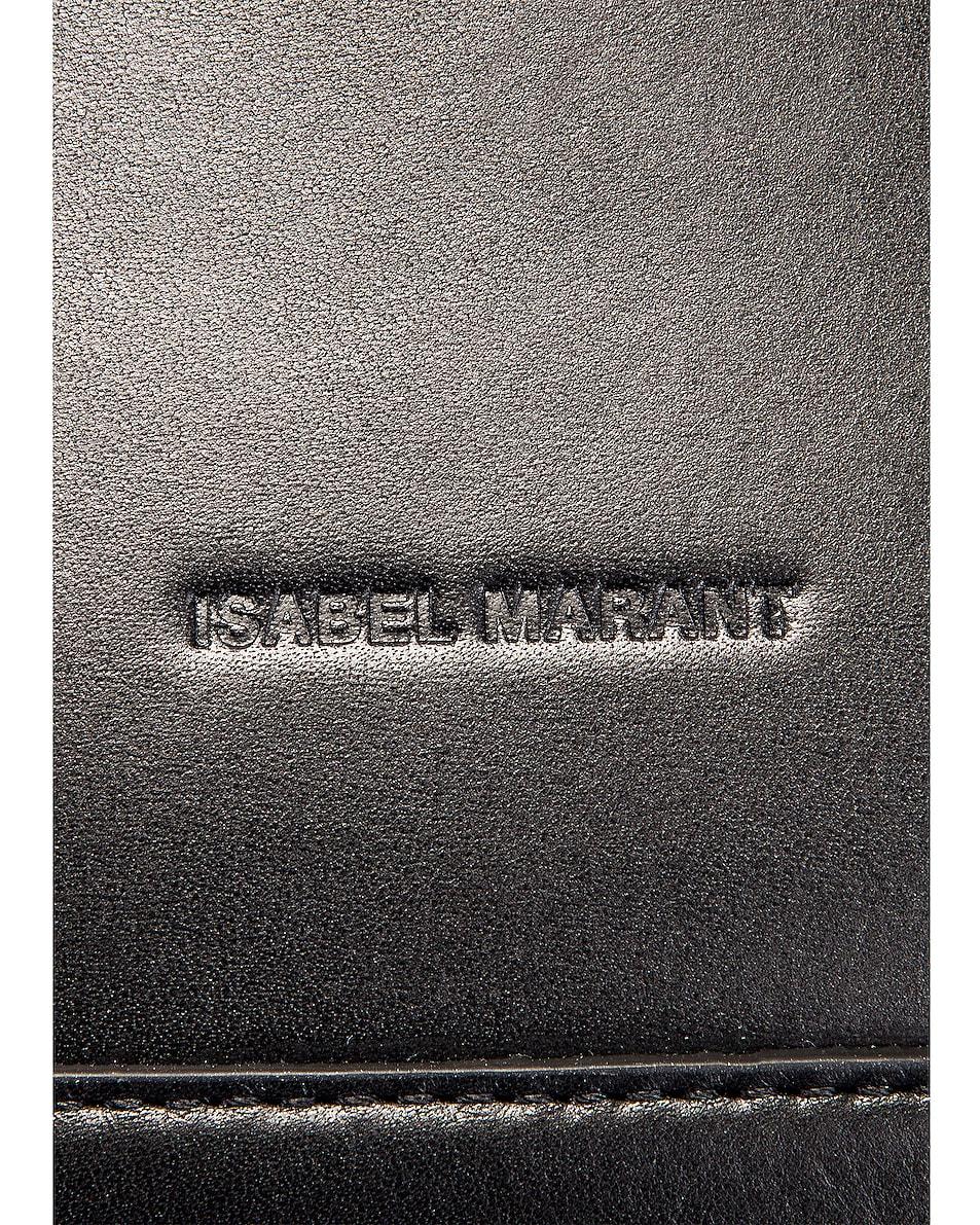 Image 6 of Isabel Marant Nasko Shoulder Bag in Black & Silver