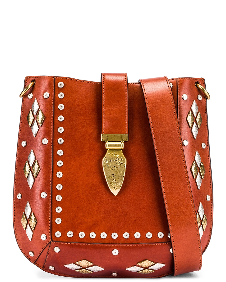 Image 1 of Isabel Marant Oskan Bag in Rust
