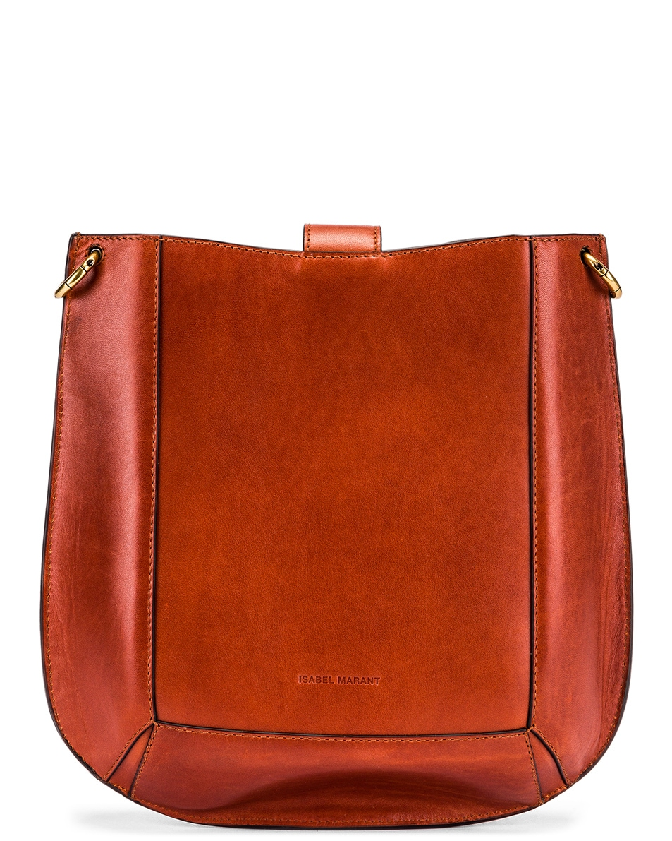 Image 3 of Isabel Marant Oskan Bag in Rust
