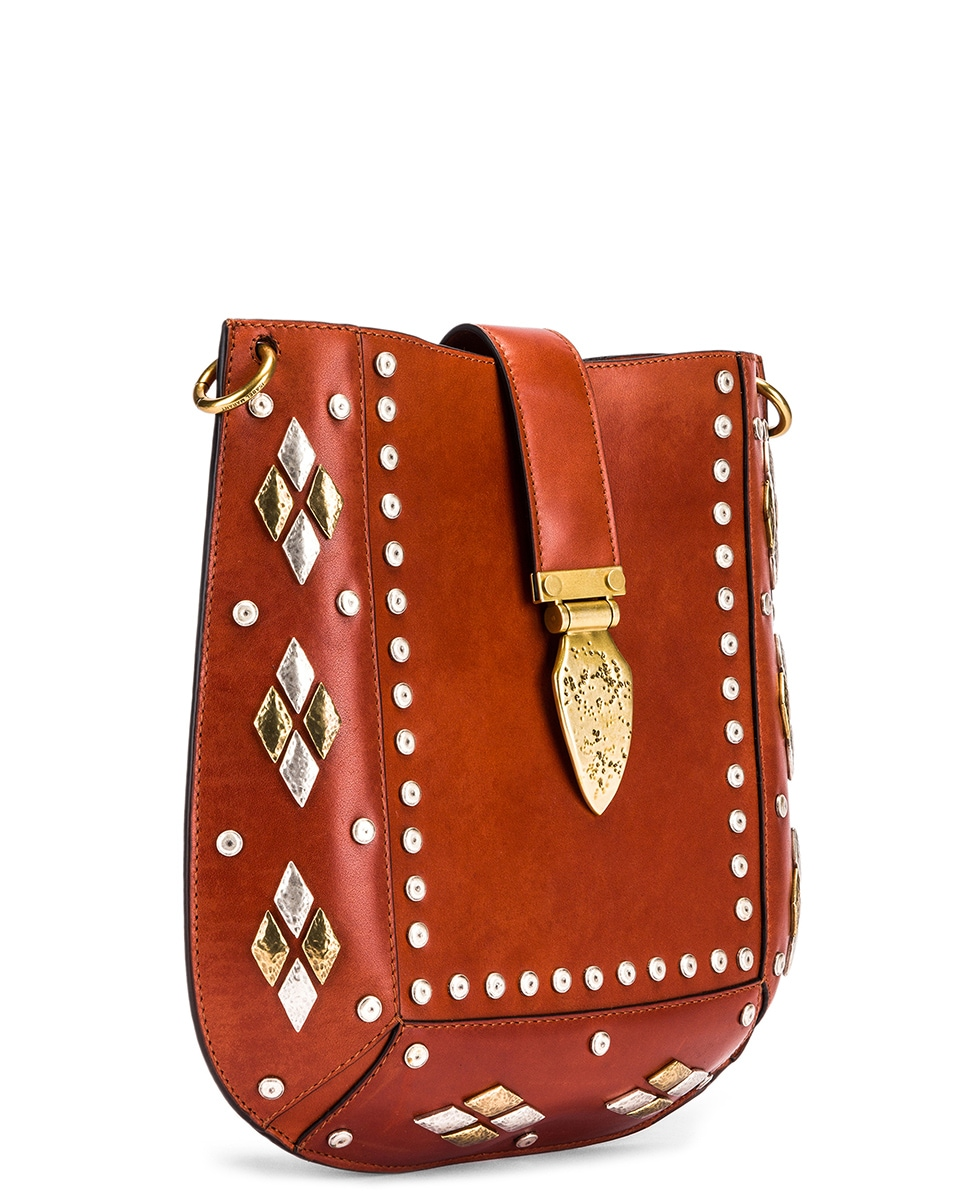 Image 4 of Isabel Marant Oskan Bag in Rust