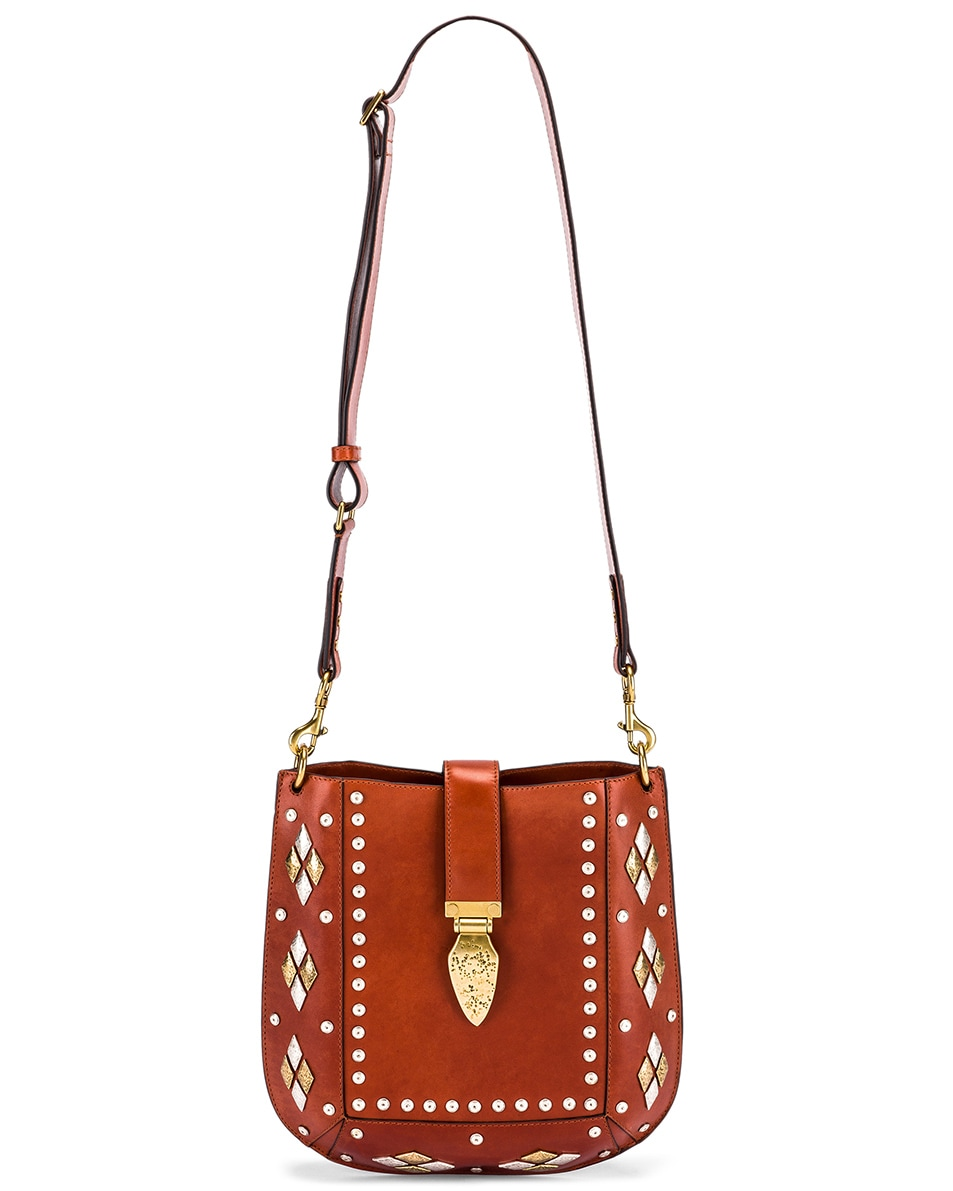 Image 6 of Isabel Marant Oskan Bag in Rust