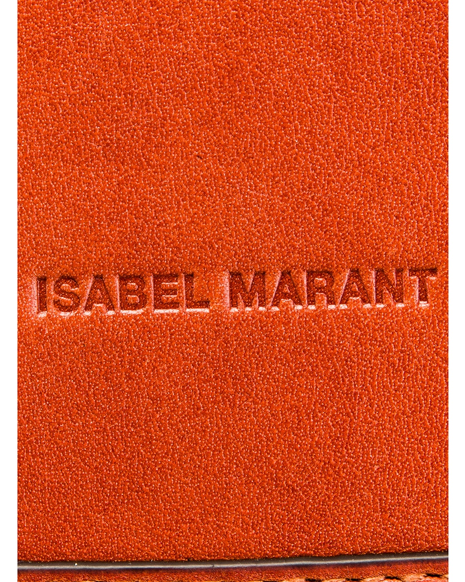 Image 7 of Isabel Marant Oskan Bag in Rust