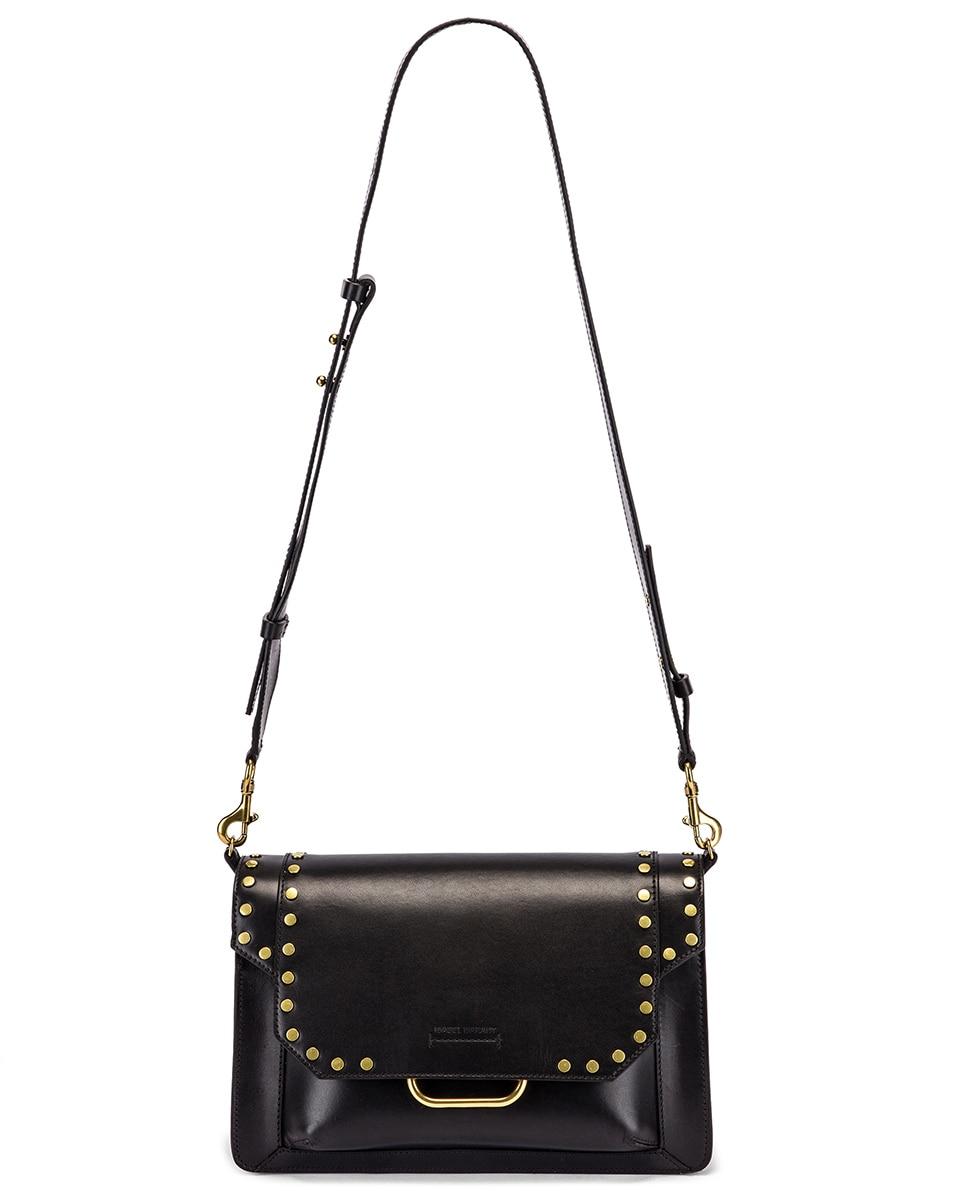 Image 6 of Isabel Marant Maskhia Shoulder Bag in Black