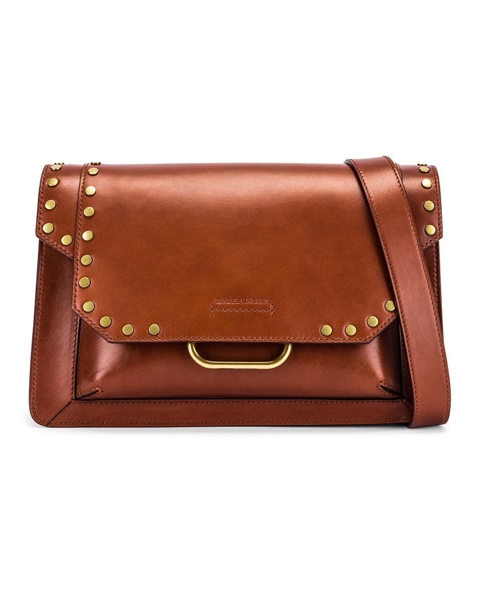 Image 1 of Isabel Marant Maskhia Shoulder Bag in Cognac