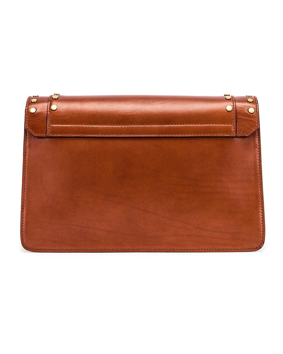 Image 3 of Isabel Marant Maskhia Shoulder Bag in Cognac