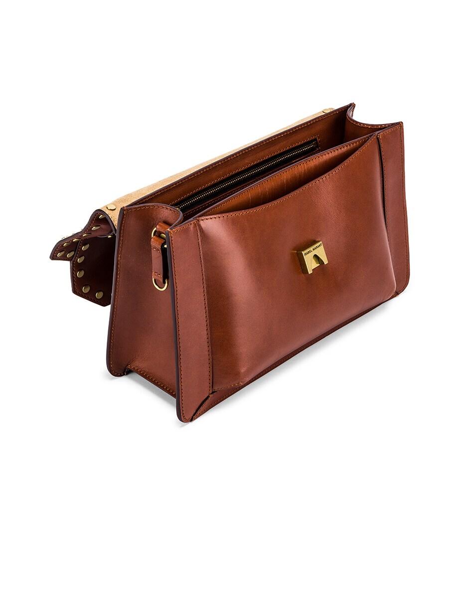 Image 5 of Isabel Marant Maskhia Shoulder Bag in Cognac