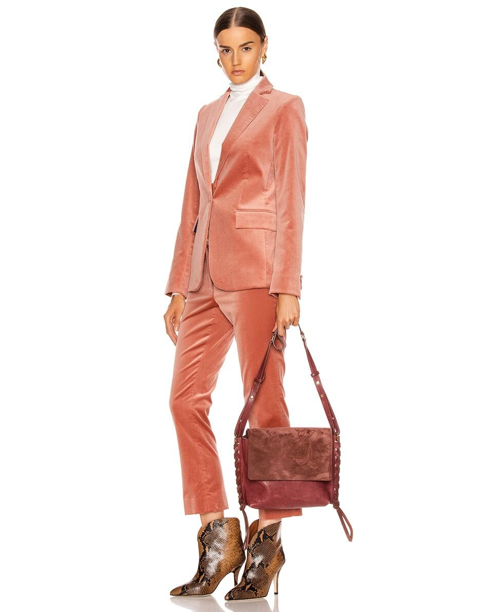 Image 2 of Isabel Marant Asli Bag in Raspberry