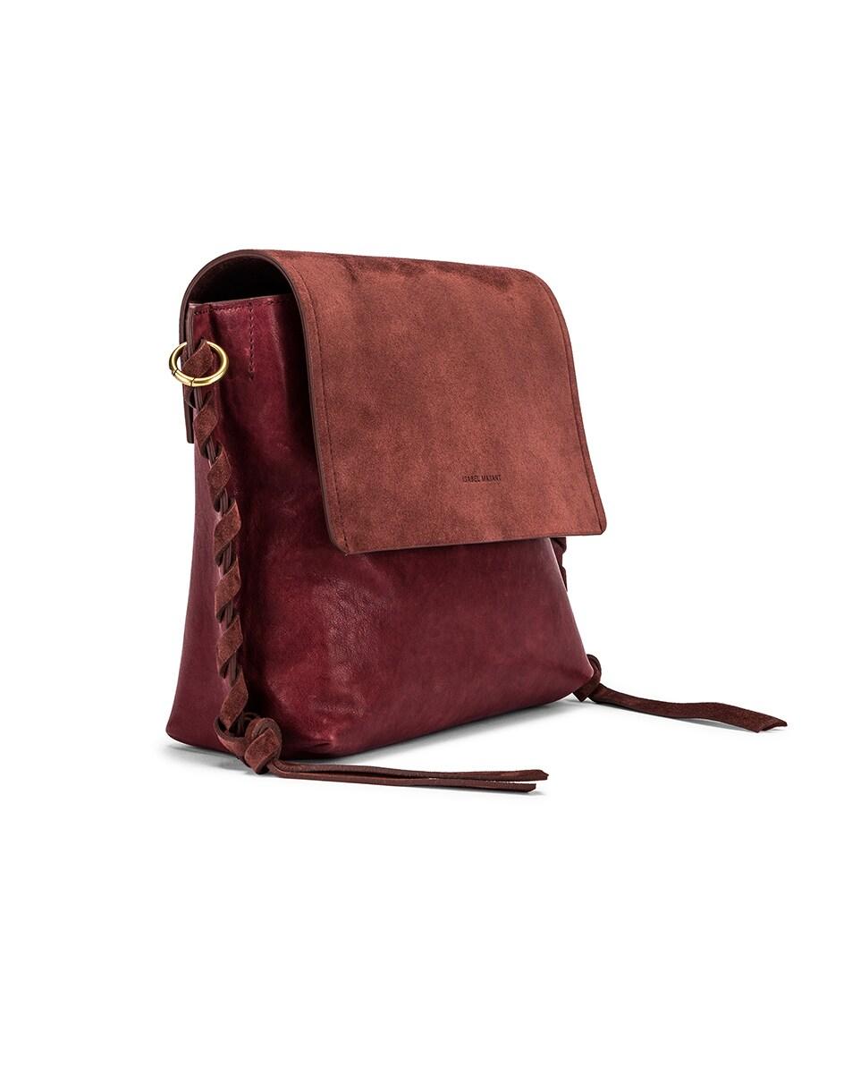 Image 4 of Isabel Marant Asli Bag in Raspberry
