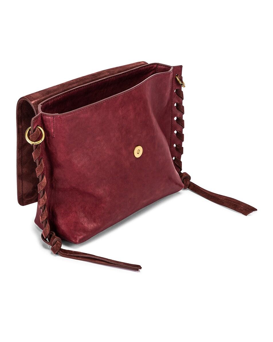 Image 5 of Isabel Marant Asli Bag in Raspberry