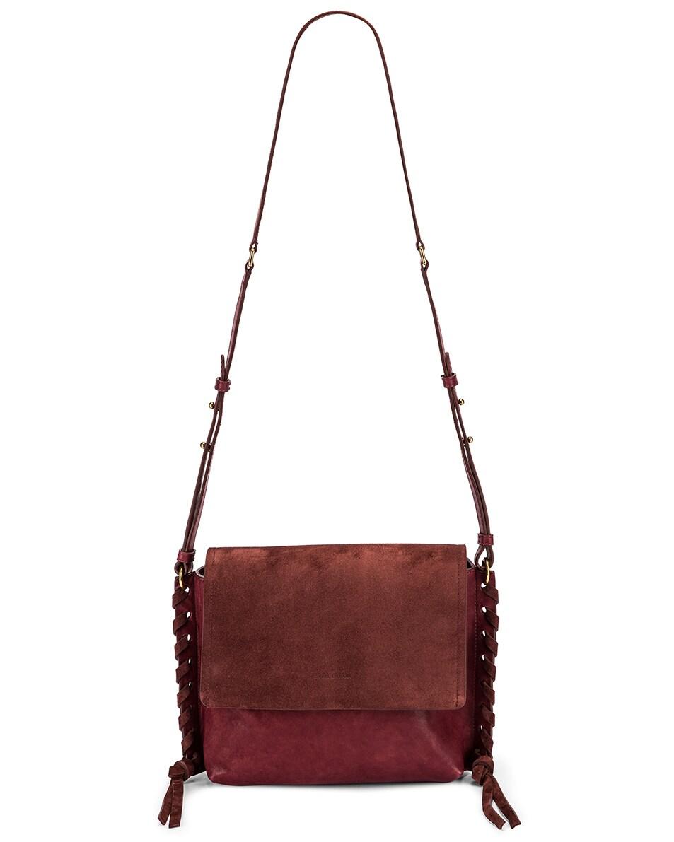 Image 6 of Isabel Marant Asli Bag in Raspberry