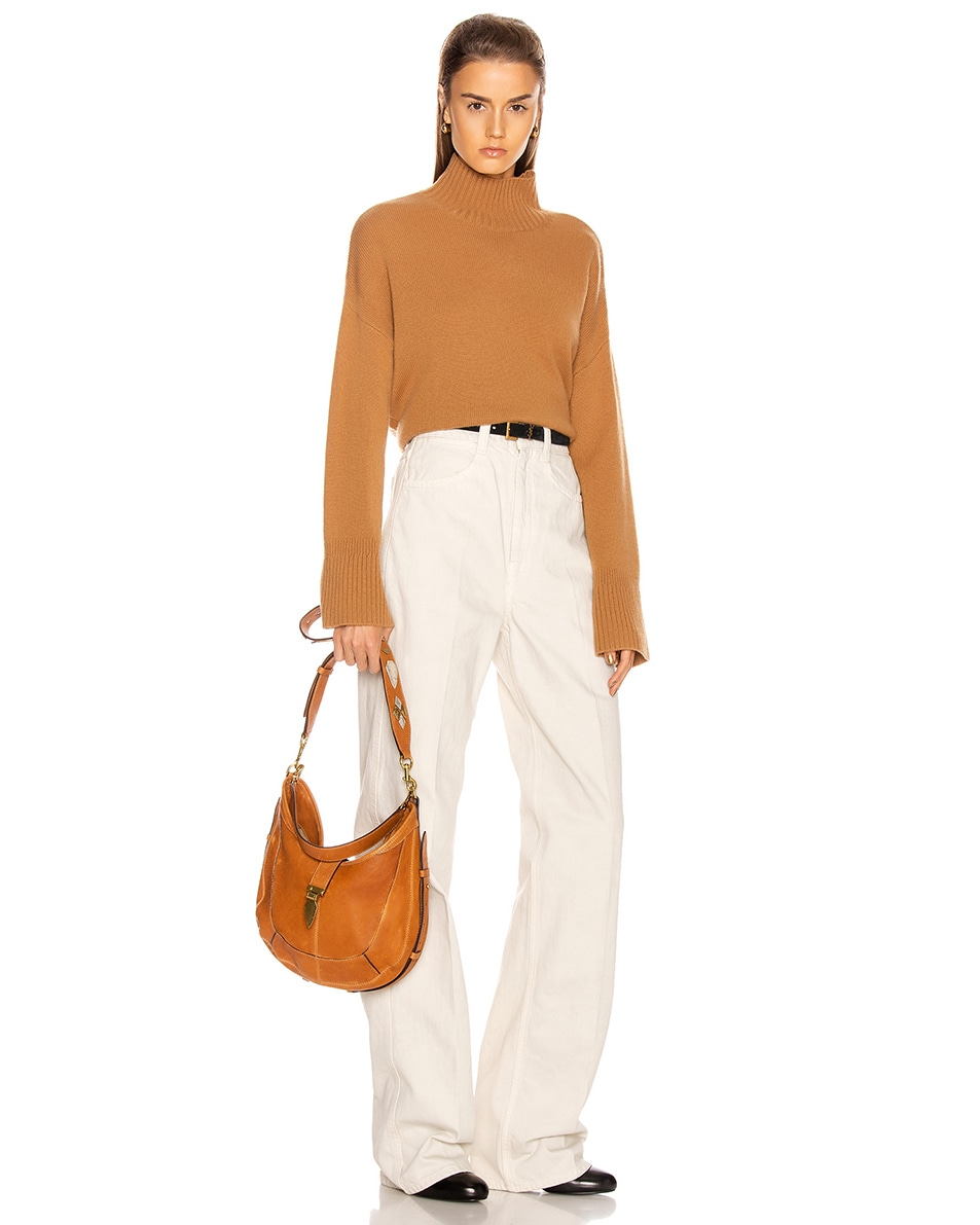 Image 2 of Isabel Marant Kaliko Bag in Cognac