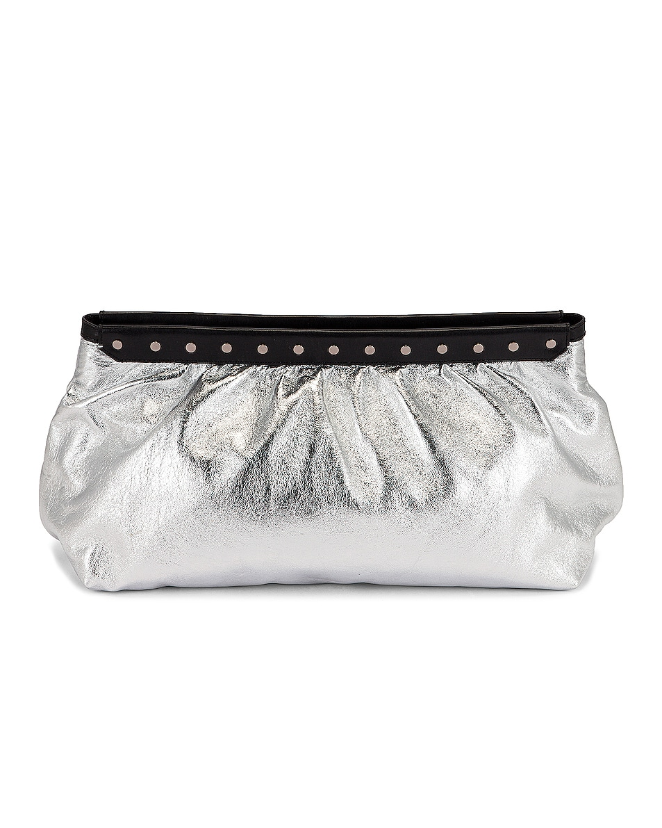 Image 1 of Isabel Marant Luz Pouch in Silver