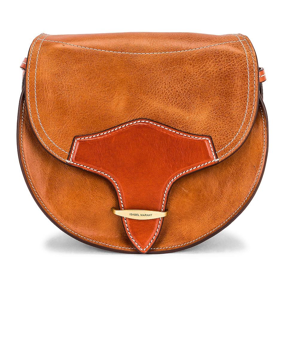 Image 1 of Isabel Marant Botsy Bag in Cognac