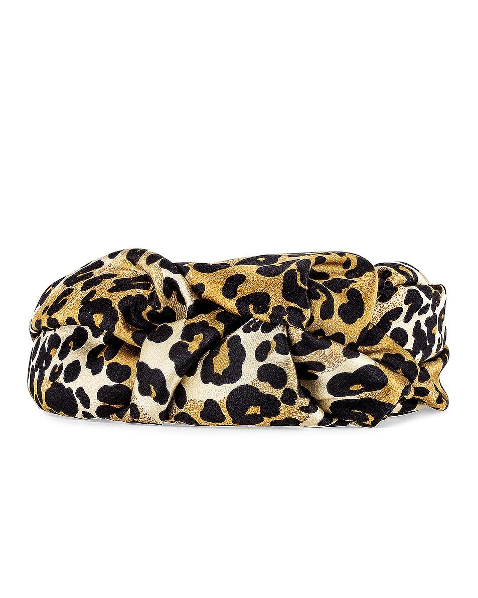 Image 2 of Jennifer Behr Fiona Headband in Leopard
