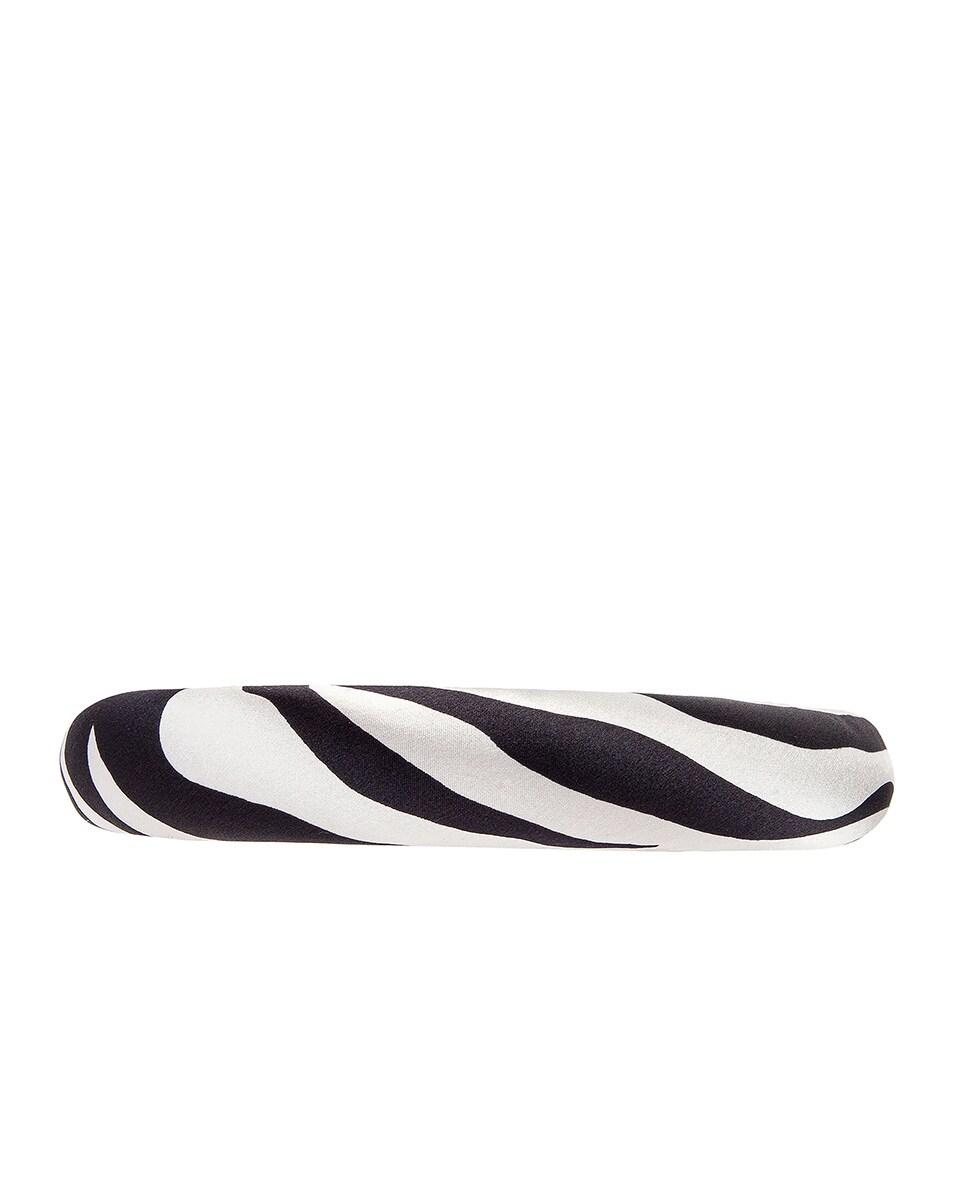 Image 3 of Jennifer Behr Tori Printed Headband in Zebra