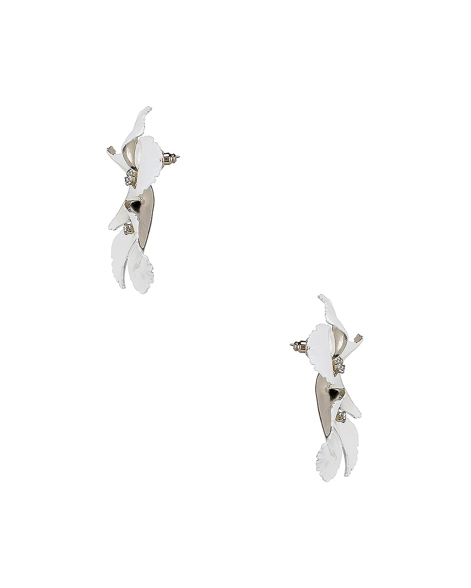 Image 3 of Jennifer Behr Malia Earrings in Snow