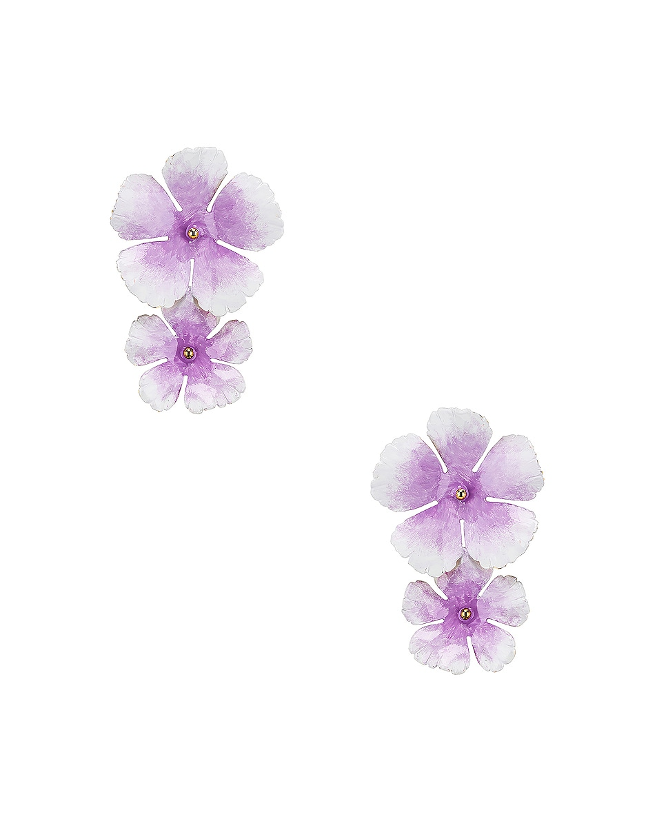 Image 1 of Jennifer Behr Faye Earrings in Lilac
