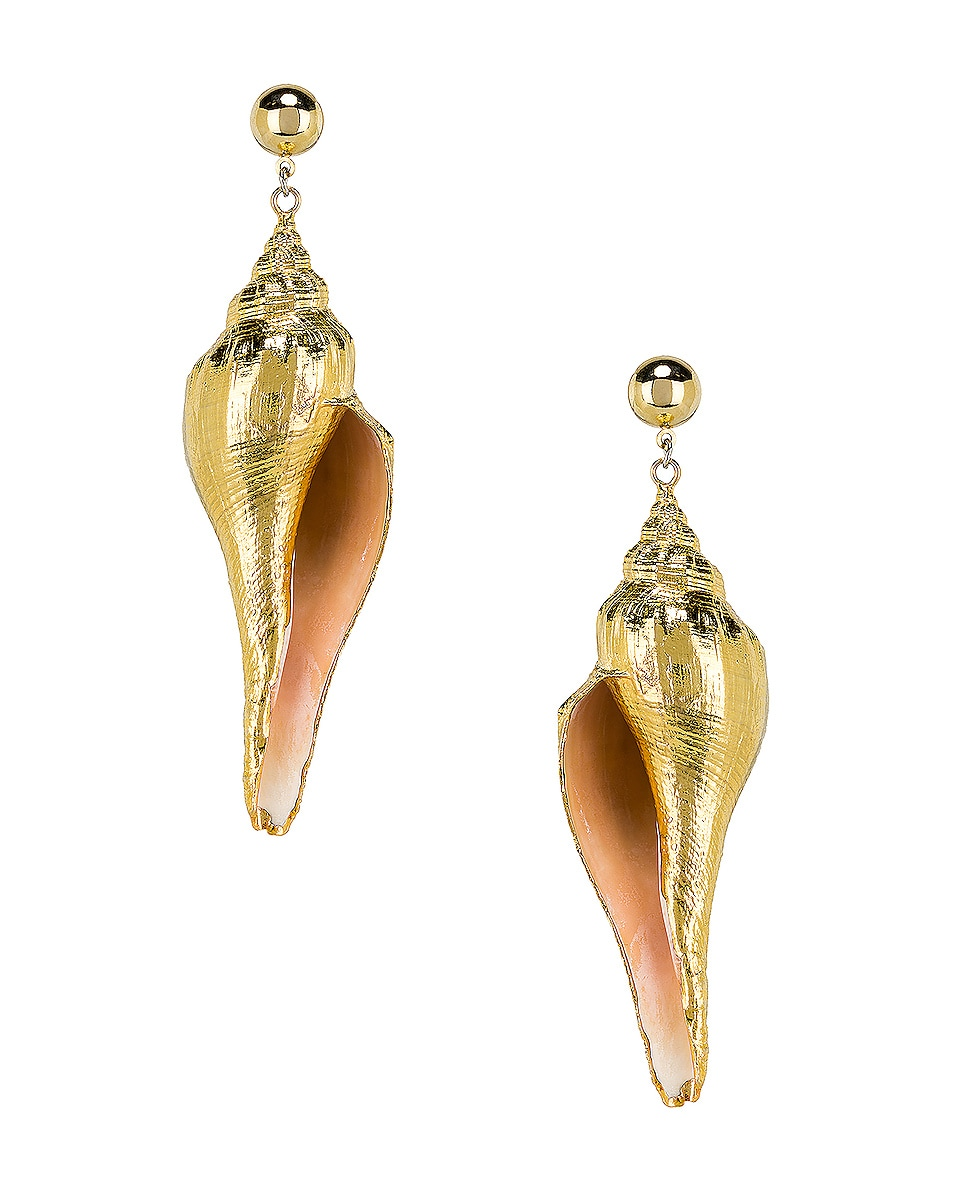 Image 1 of Jennifer Behr Neptune Earrings in Gold