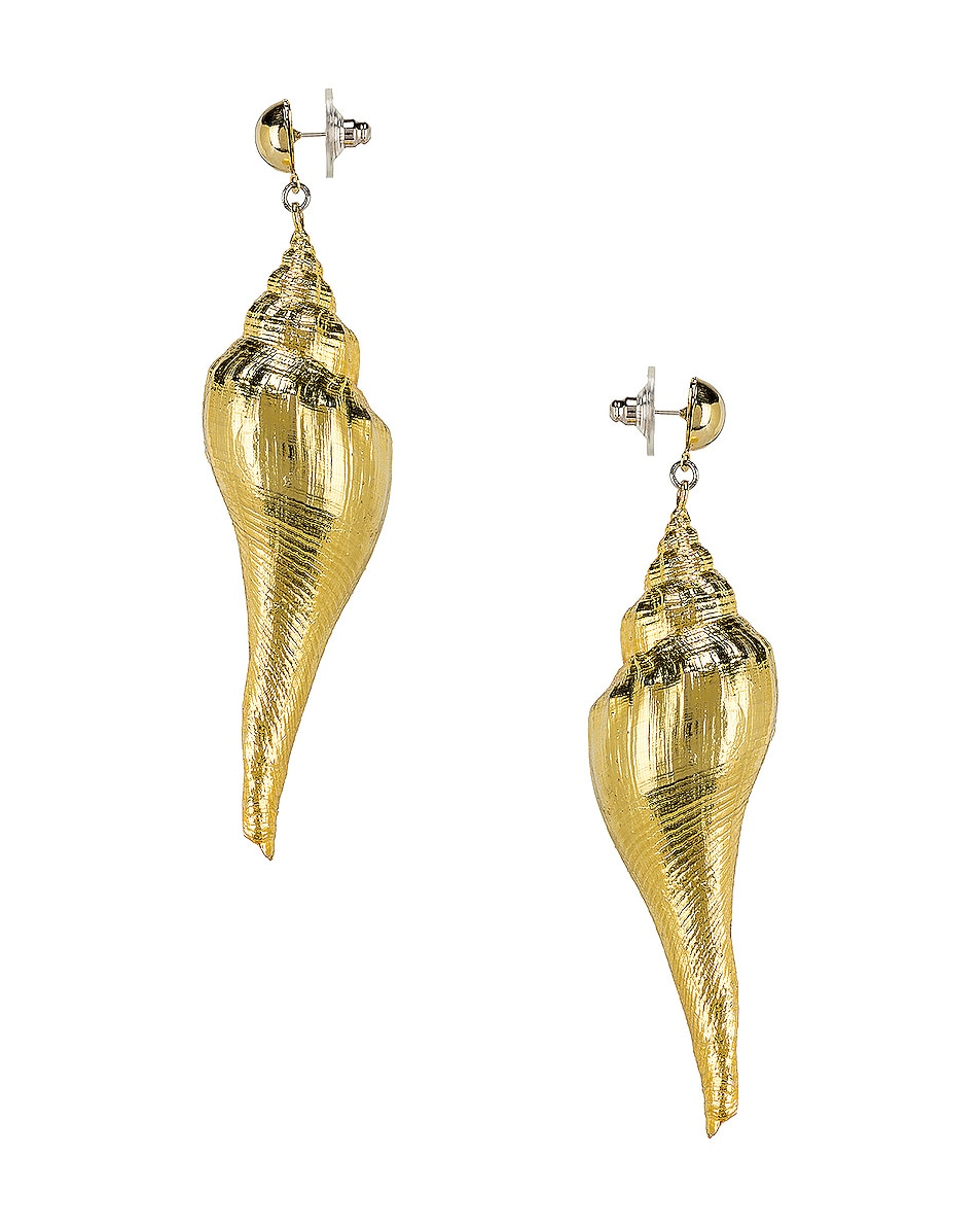 Image 3 of Jennifer Behr Neptune Earrings in Gold