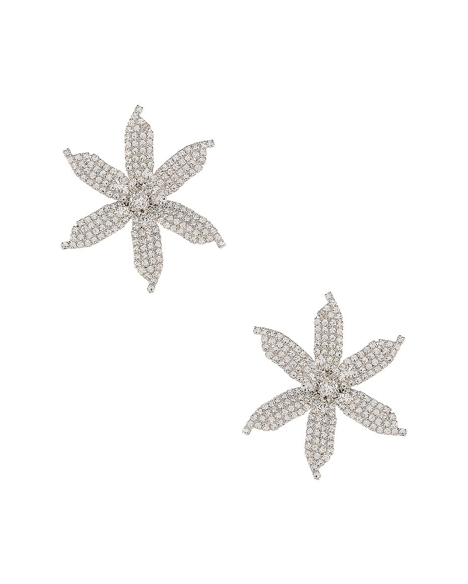 Image 1 of Jennifer Behr Laelia Earrings in Crystal