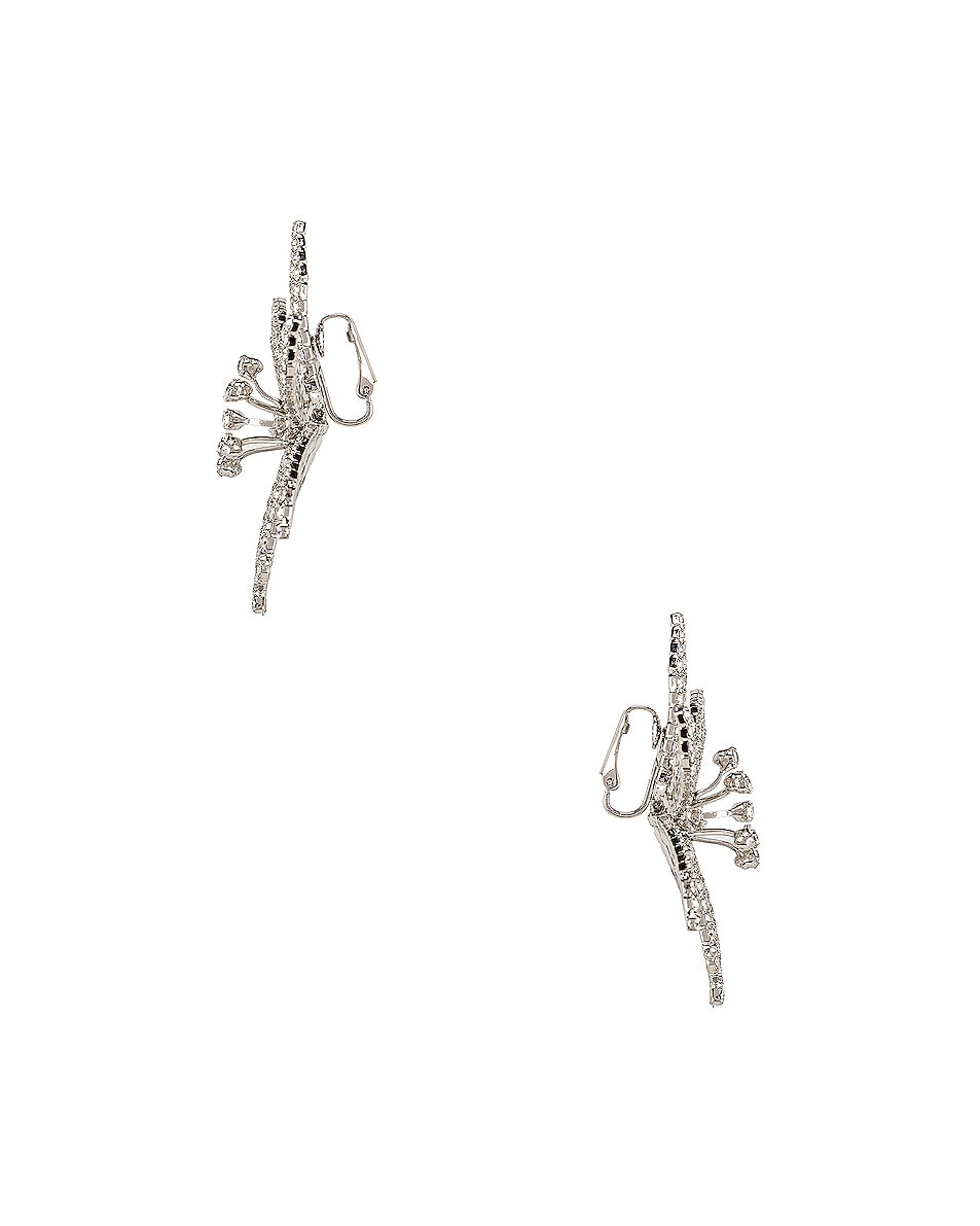 Image 3 of Jennifer Behr Laelia Earrings in Crystal