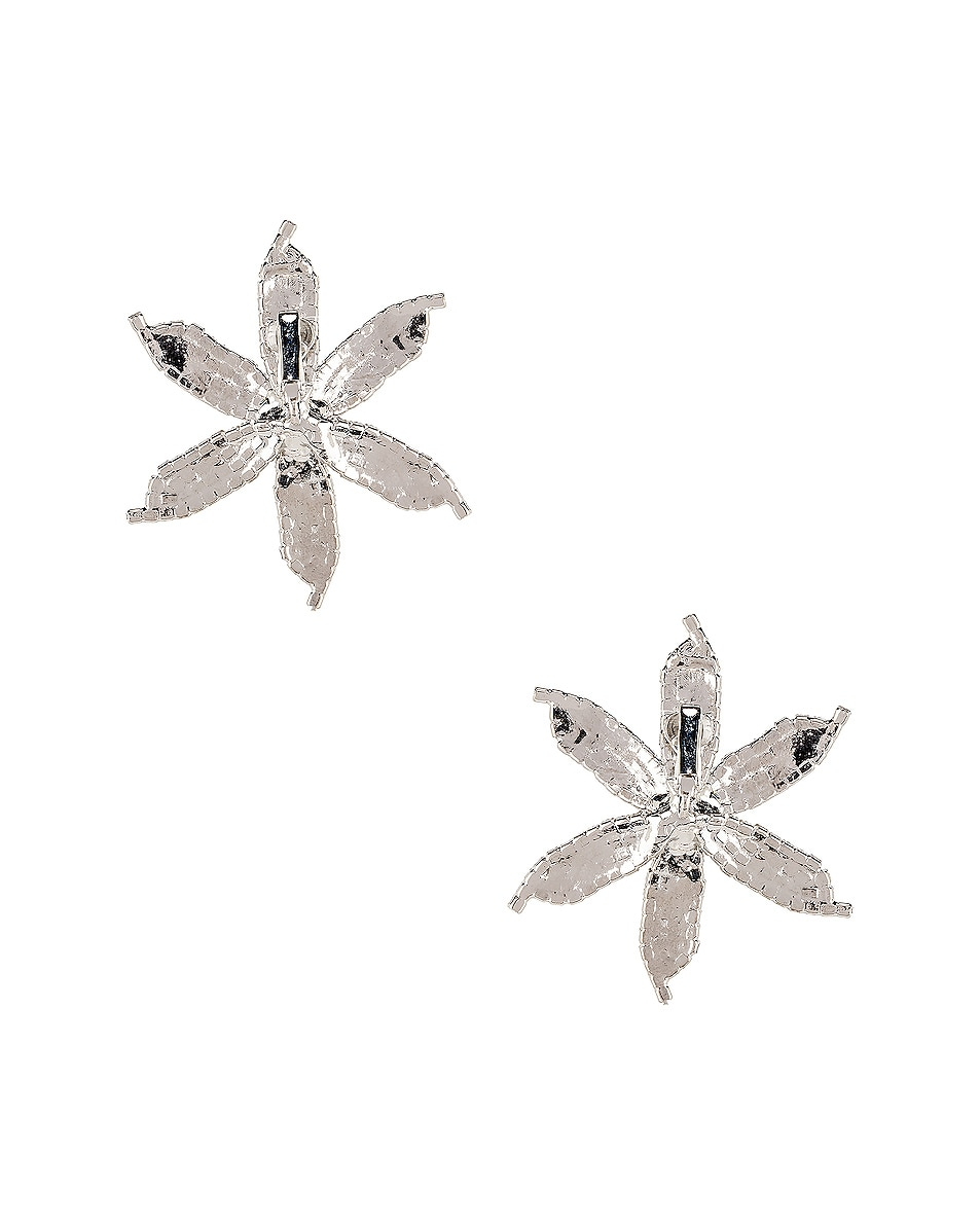 Image 4 of Jennifer Behr Laelia Earrings in Crystal
