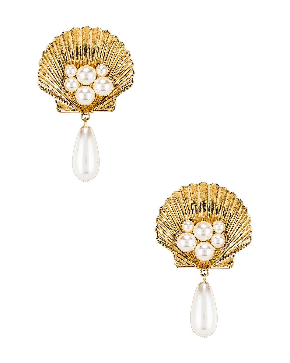 Image 1 of Jennifer Behr Marietta Earrings in Gold