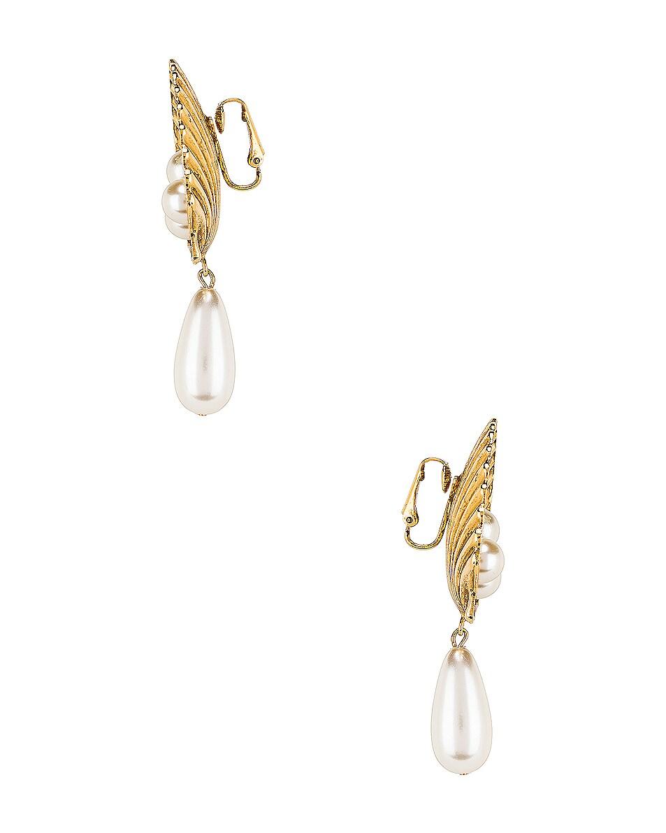 Image 3 of Jennifer Behr Marietta Earrings in Gold