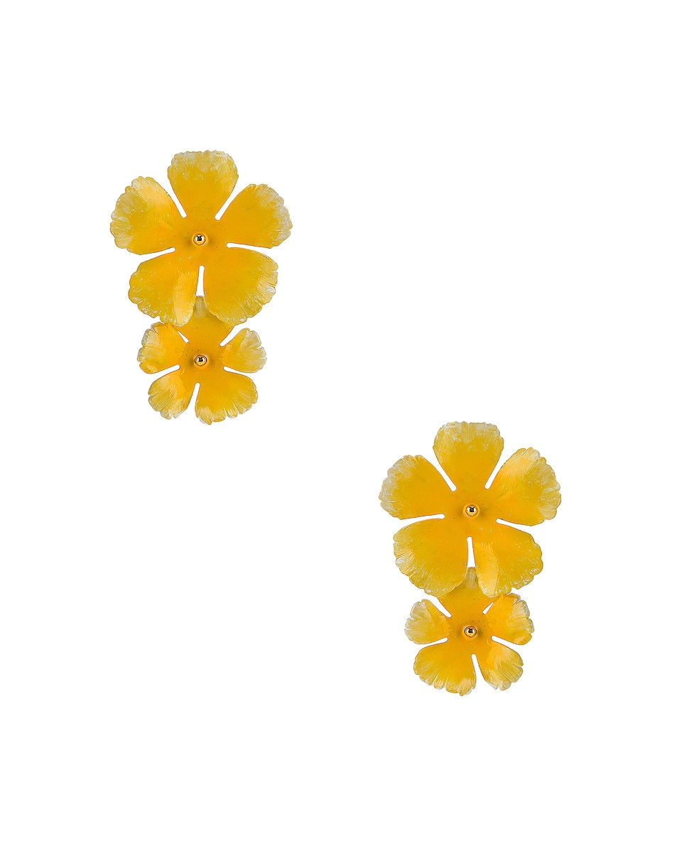Image 1 of Jennifer Behr Faye Earrings in Buttercup