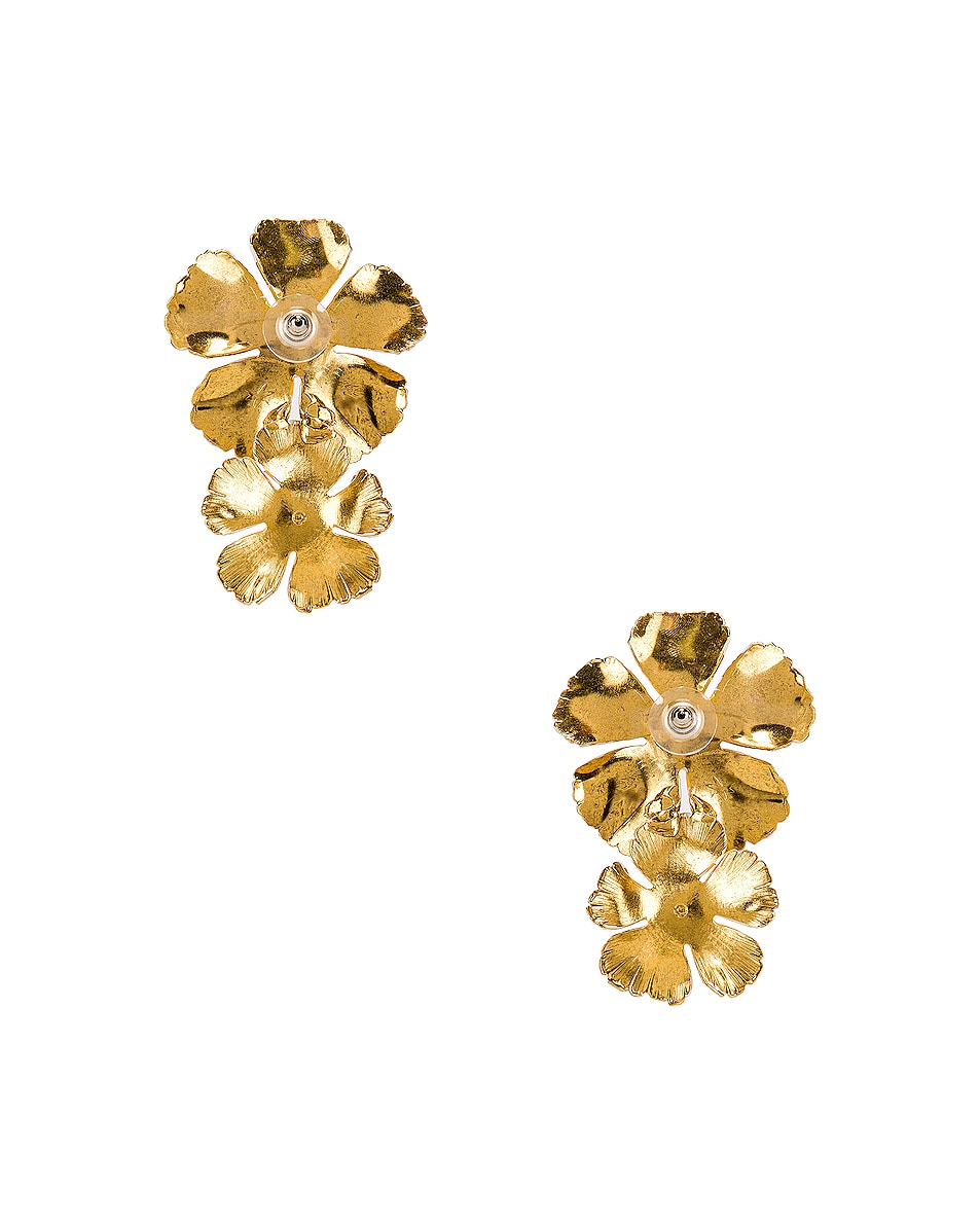 Image 4 of Jennifer Behr Faye Earrings in Buttercup