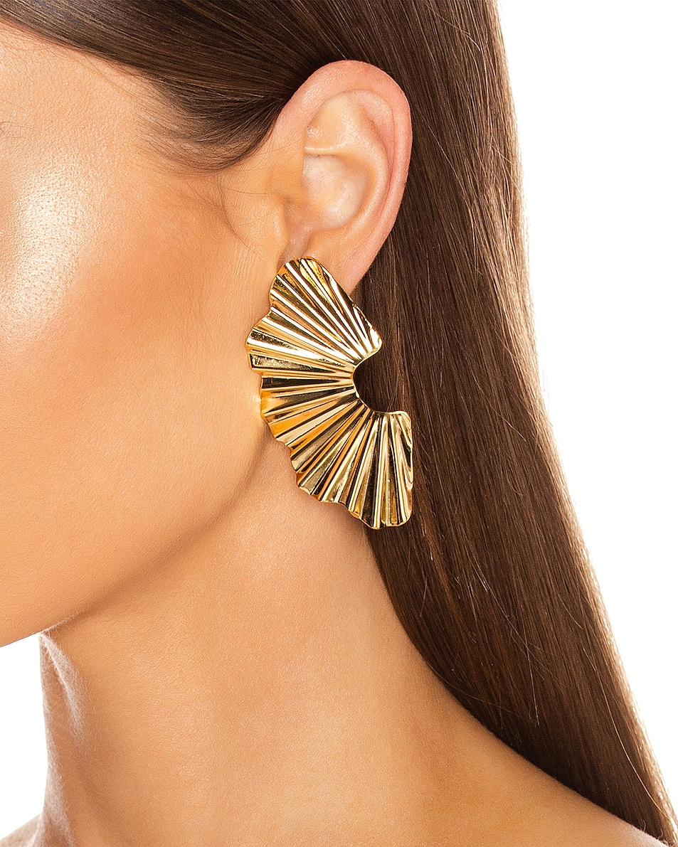 Image 2 of Jennifer Behr Nautia Earrings in Gold