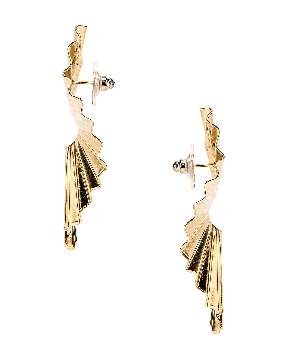 Image 3 of Jennifer Behr Nautia Earrings in Gold