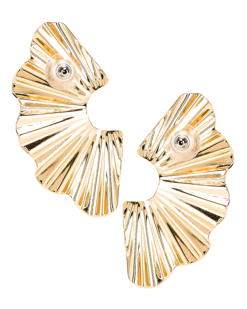 Image 4 of Jennifer Behr Nautia Earrings in Gold