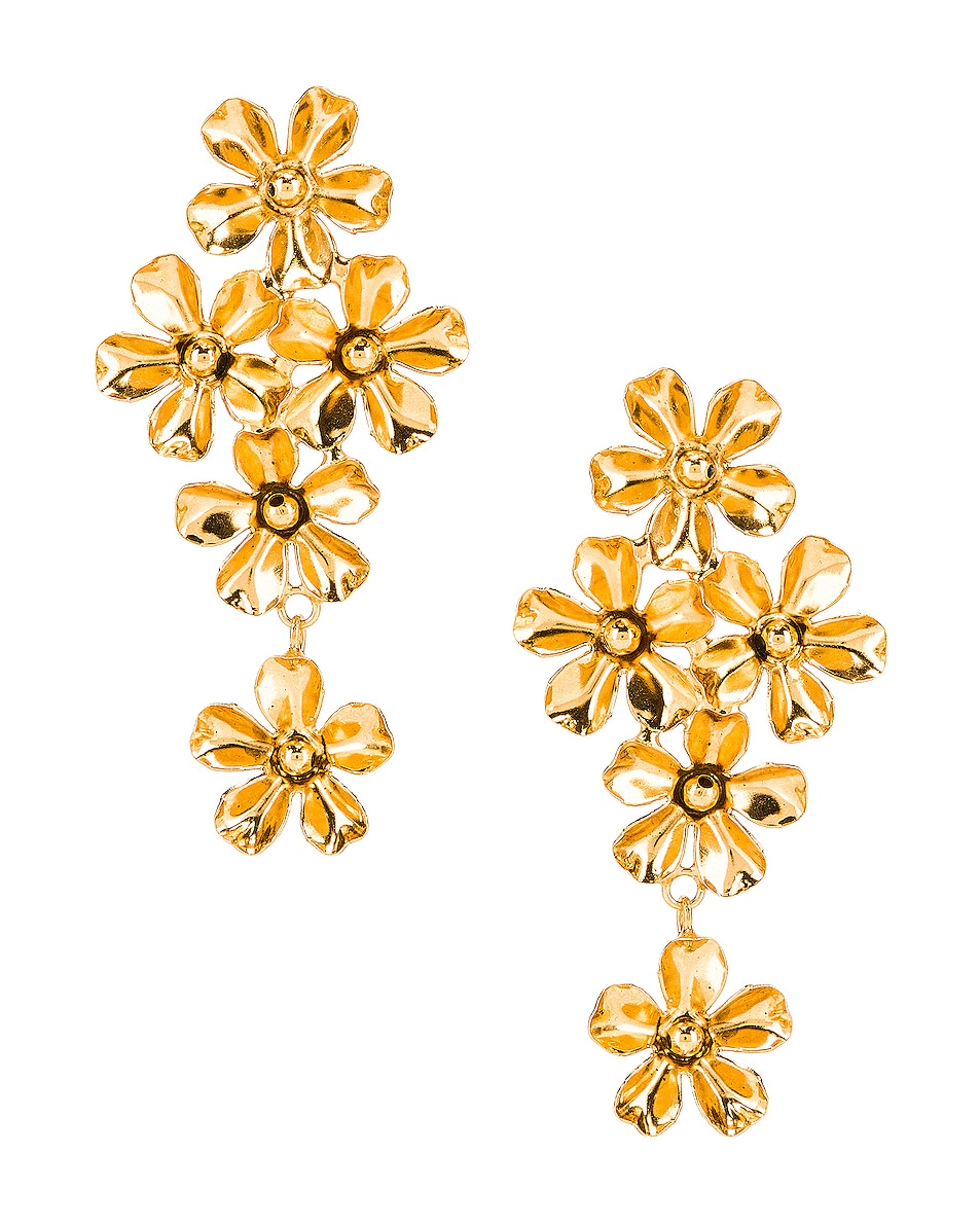 Image 1 of Jennifer Behr Dasha Earrings in Gold