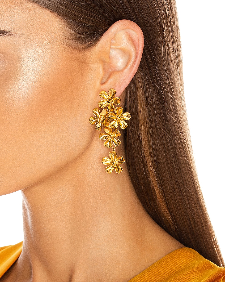 Image 2 of Jennifer Behr Dasha Earrings in Gold