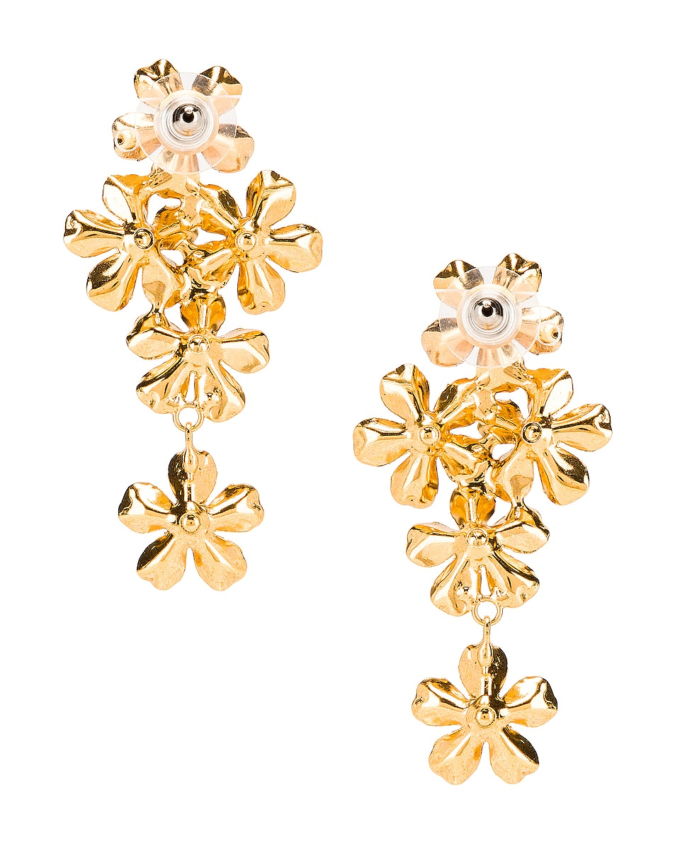 Image 4 of Jennifer Behr Dasha Earrings in Gold