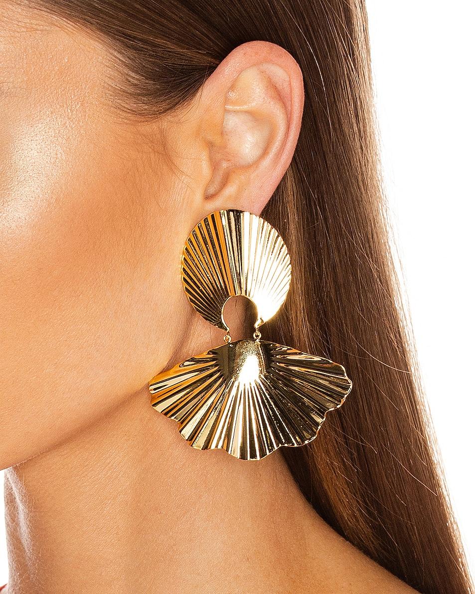 Image 2 of Jennifer Behr Nerissa Earrings in Gold