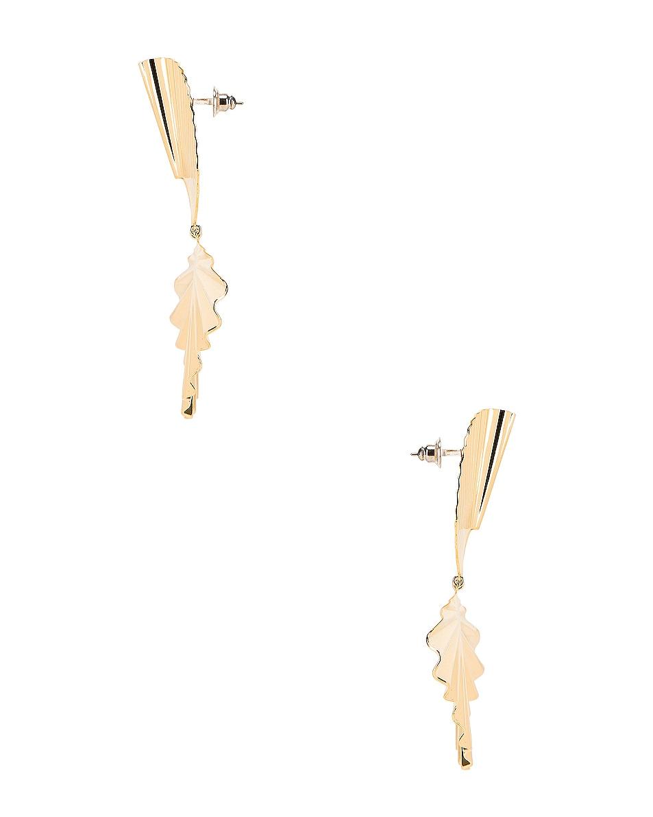Image 3 of Jennifer Behr Nerissa Earrings in Gold