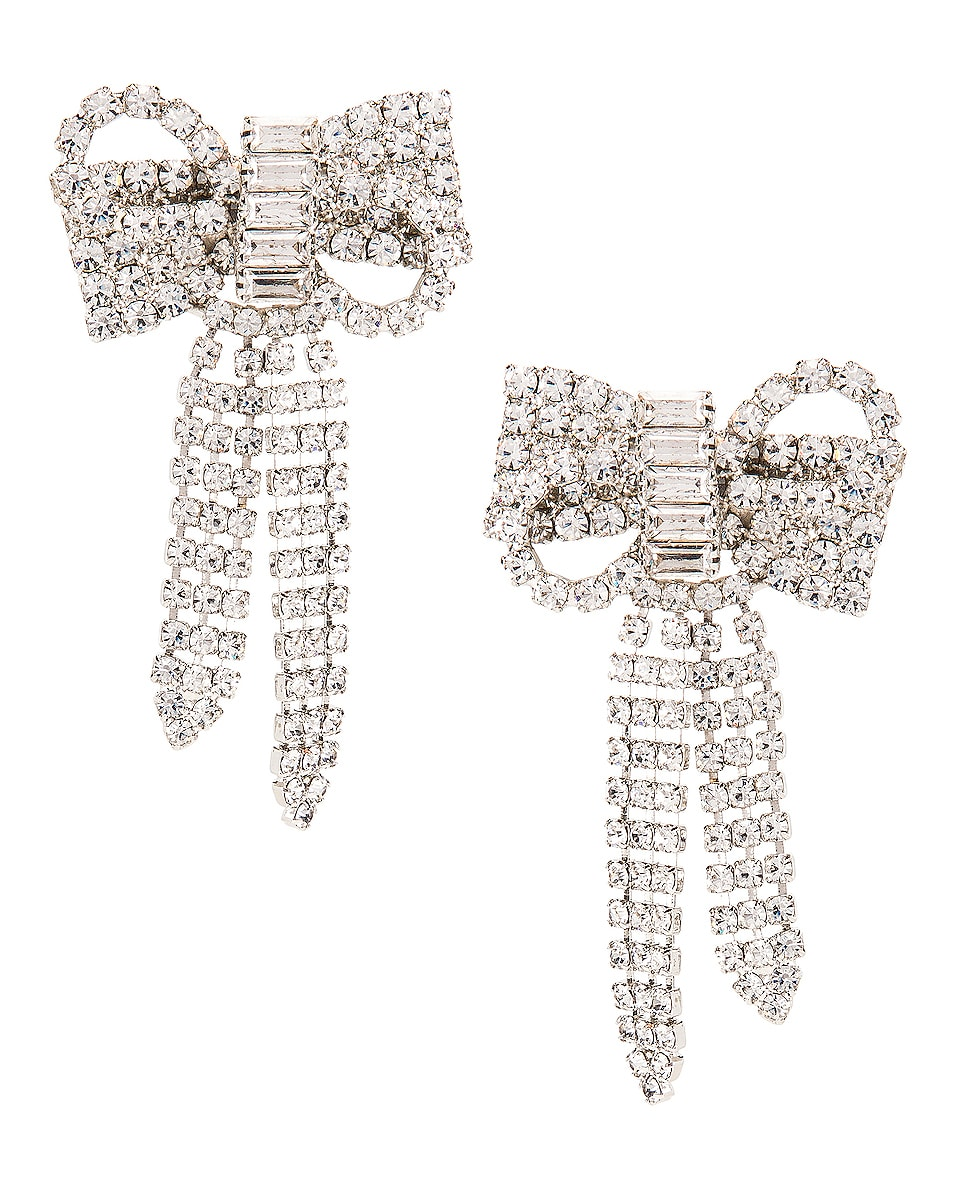Image 1 of Jennifer Behr Lola Earrings in Crystal