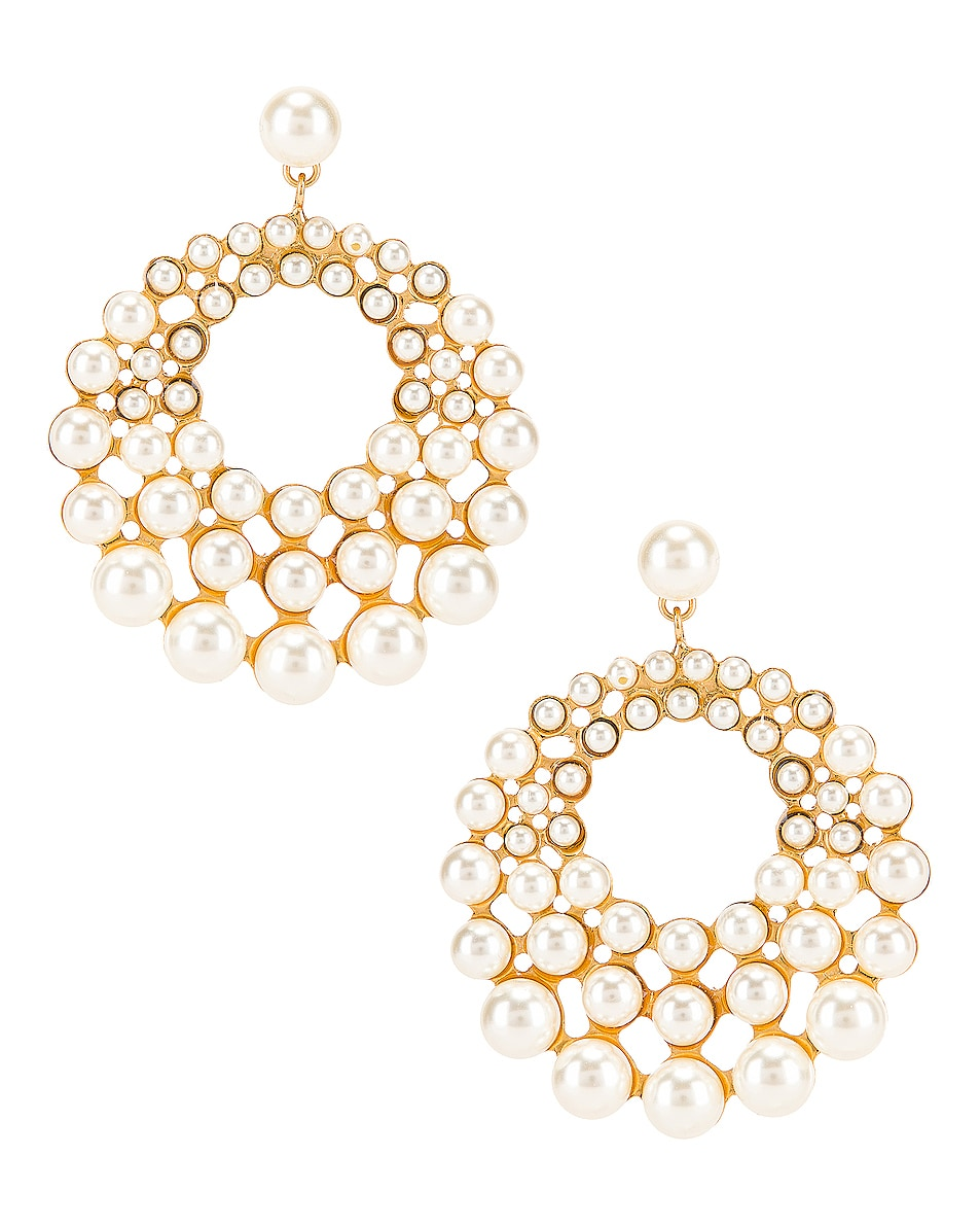 Image 1 of Jennifer Behr Prianna Earrings in Gold